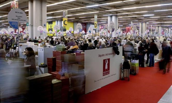 Le salon du vin à Paris Porte de Versailles